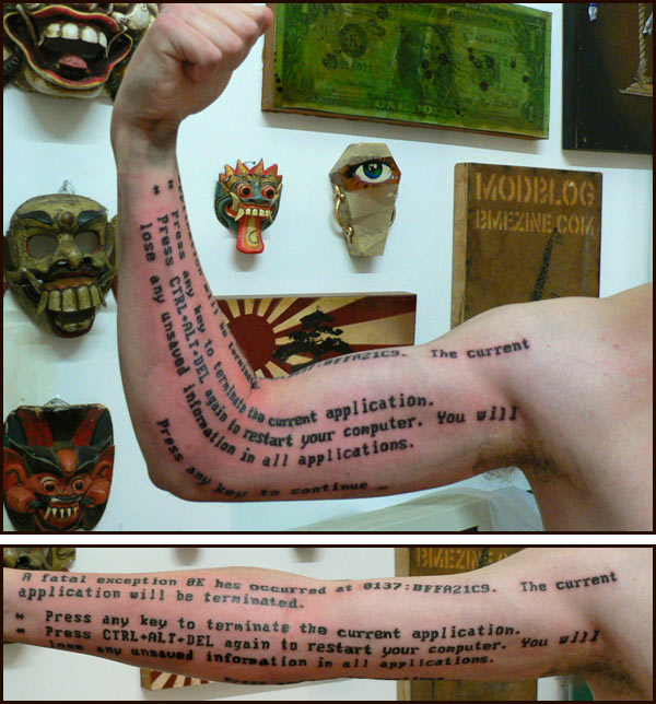 Geek Tattoo