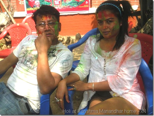 holi at karishma manandhar house_009
