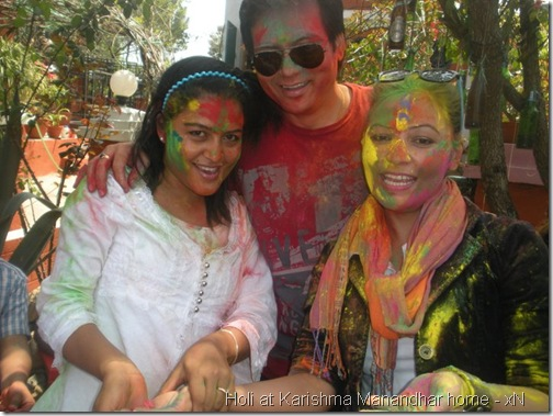 holi at karishma manandhar house_012