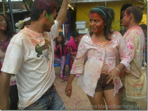 holi at karishma manandhar house_086