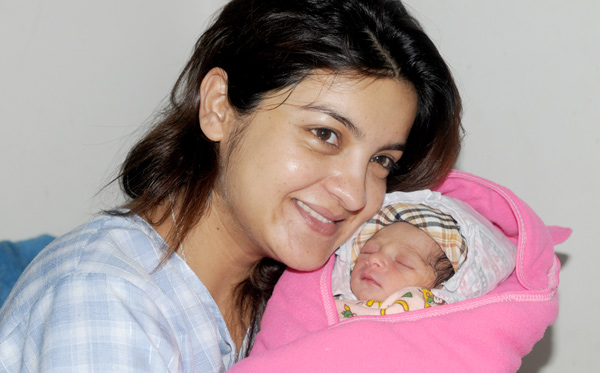 Lamsal Her New Born Daughter Nepali Movies Films