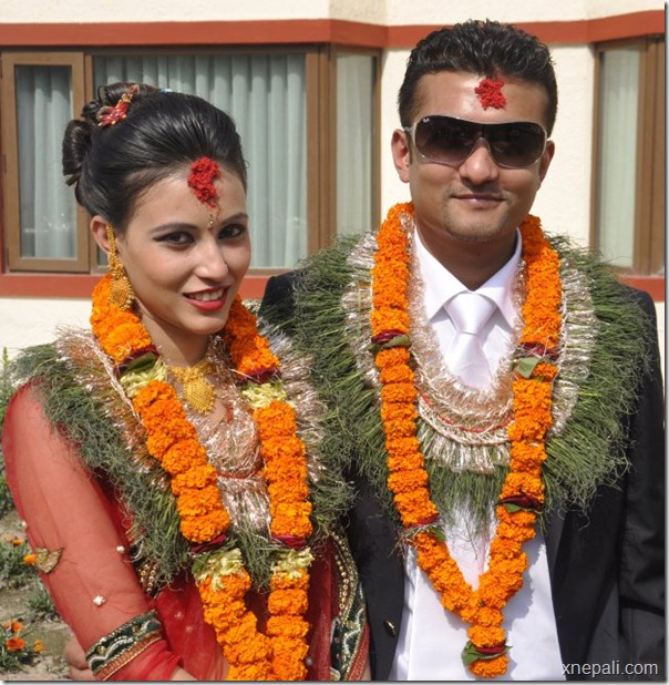 Nirak_poudel_anisha_thapa_married