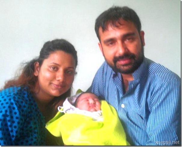 Richa_ghimire_Shankar_Ghimire_newborn_boy