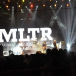 MLTR heated the cold evening Kathmandu