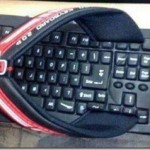 Geek slipper – wearing the keyboard