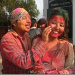 More Holi Photos – Karishma Manandhar home