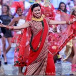 Miss World 2011 – Malina Joshi dancing in traditional Nepali dress