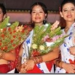 Deepa Gurung awarded Sunny Girl Crown