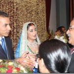 Prachanda at Manisha Koirala Wedding Reception Party