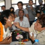 Rajesh Hamal turns 46, celebrates with disabled