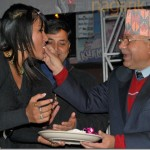 TV Filmy Cake and Media attention on Rekha Thapa