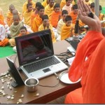 Technology in Ashram!