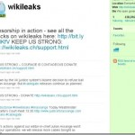 Wikileaks – Twitter screenshot!