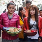 Rekha Thapa and FDB head Pappu seen together in Dolkha, again