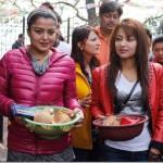 Rekha Thapa and FDB head Pappu seen together in Dolkha, again