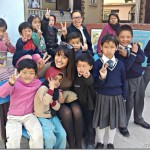 Priyanka Karki celebrated birthday with Life Vision kids