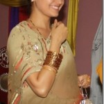 Sanchita Luitel shows off her pregnant belly