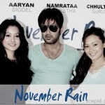 Details of Aryan Sigdel's movie November Rain announced