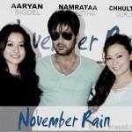 Details of Aryan Sigdel's movie November Rain announced