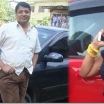 Rekha Thapa celebrates the success of 'Kali' by buying a new car