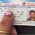 Nepali artists are voting in the election