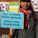 Binita Baral - in Go Organic movement