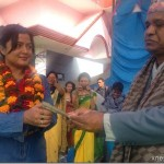 Rekha Thapa honored at Bal Jagriti College – Donated Rs. 50K to disabled students