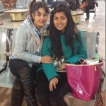 Karishma daughter Kabita returned back to USA after doing a music video