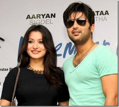 namrata shrestha and aryan sigdel november rain