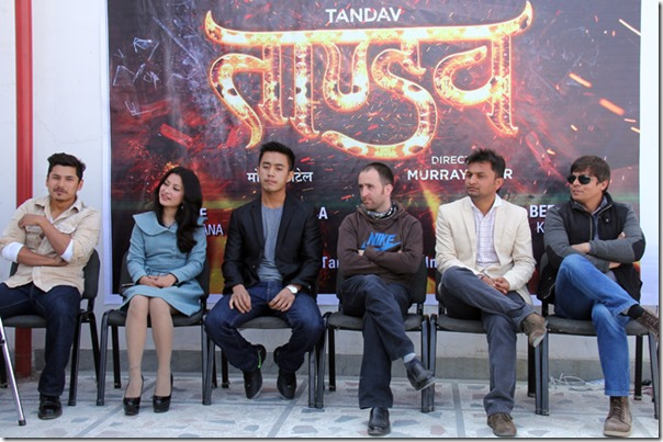 tandav press meet namrata shrestha