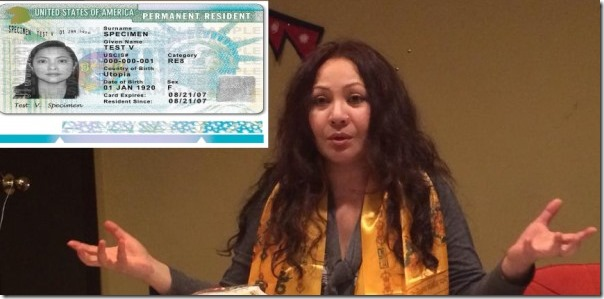 gauri malla us green card pr card