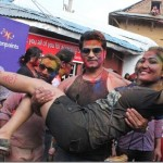 Film promotion in Holi, Fitkiri, November Rain, Shree Panch Ambare and so on