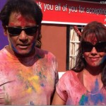 Holi 2014 at Karishma Manandhar's home (photo feature)
