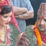 Aryan Sigdel marries Sapana Bhandari