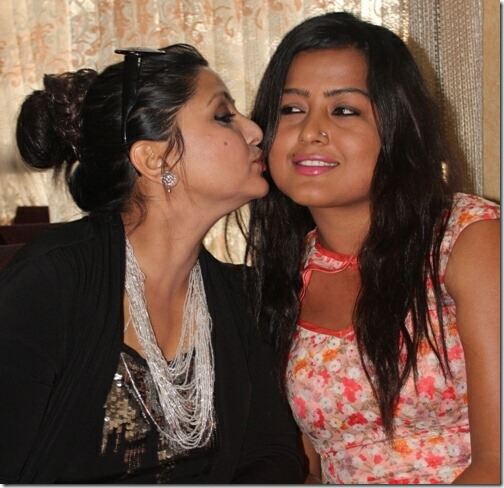rekha thapa and deepashree niraula