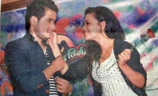Neeta Dhungana announce affair with Fulai Fulko Mausam Timilai costar