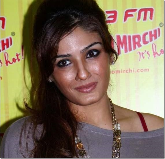 Bollywood actress Raveena Tandon arrives in Nepal for a fashion show