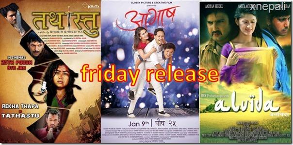 Friday Release, Aavash, Alvida, and Tathastu