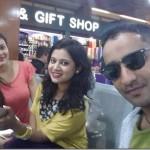 Keki Adhikari flies to the USA