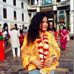 Why did Rekha Thapa go to Pashupati right after arrival from USA?