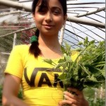 Binita Baral flying to the USA to do MBA in Agriculture Business