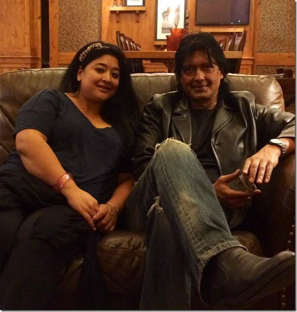 jal shah and rajesh hamal in Salt Lake City on Halloween