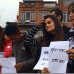 Late Neha Pun (Yoruna Pun) remembered by actresses in Kathmandu