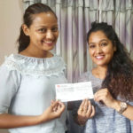 Richa Sharma starts her 29th year by donating Rs. 100K to Dhurmus Suntali Foundation