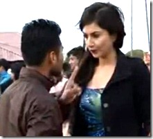 nisha_adhikari_journalist_debate_finger