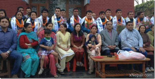 farewell_prachanda_Mt.Everest_team_cpn_maoist