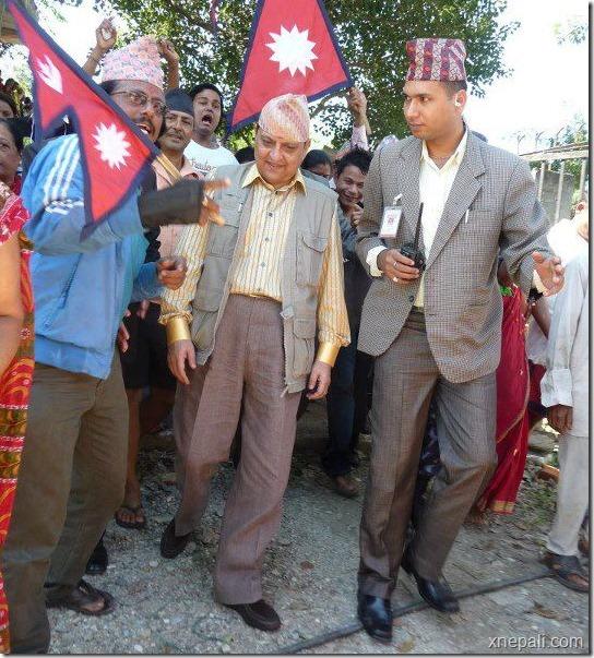 ex_king_gyanendra_pokhara_visit -dhading