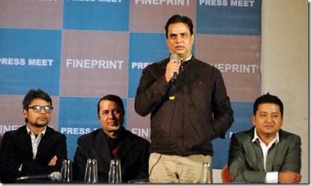 haribansha announcing his book