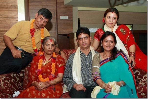 haribhansh and madankrishna family potrait