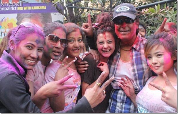 rajesh hamal with actresses sushma karki